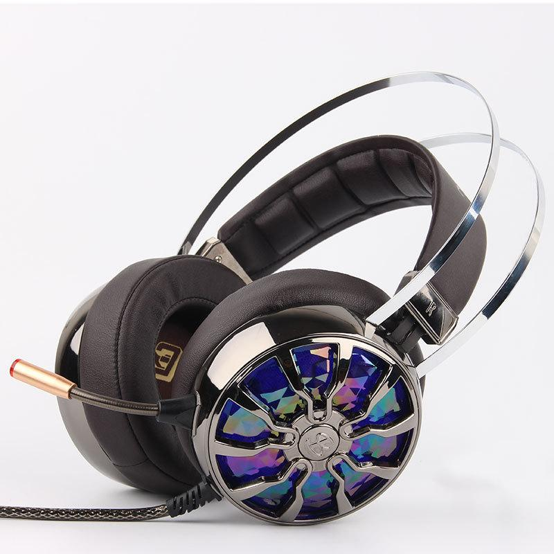 USB Stereo Bass Noise Canceling Gaming Headset
