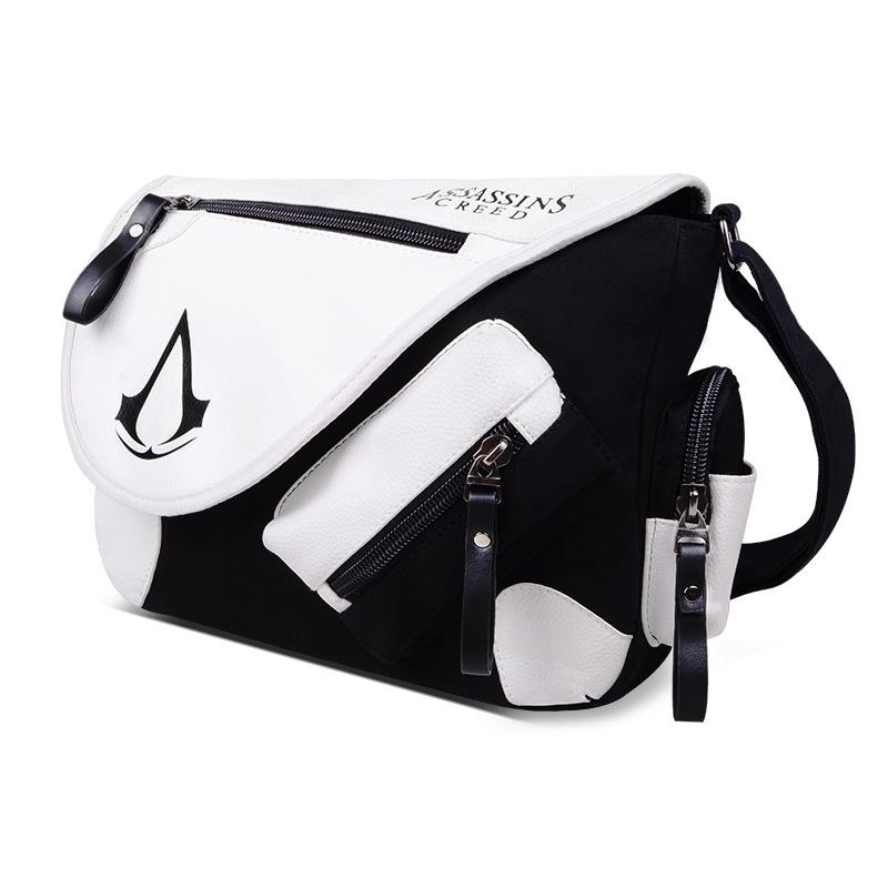 Assassin's Creed Canvas Leather Shoulder Bag