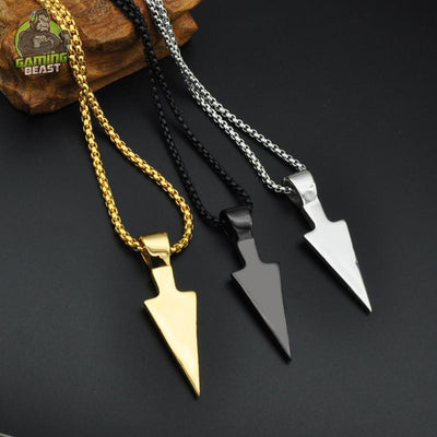 Assassin's Creed Personality Titanium Steel Necklace