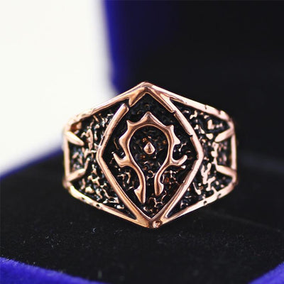World of Warcraft Adjustable Vintage Ring