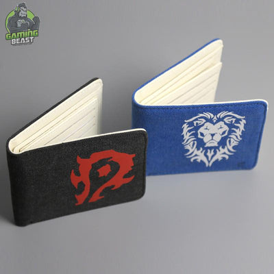 World of Warcraft Tribal Allianceyin Sign Wallet