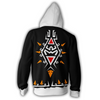 Limited Edition The Legend of Zelda 3D Printed Zip Hoodie Top