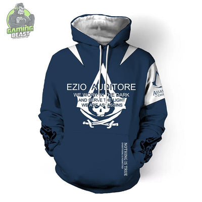 Assassin's Creed Fashion 3D Print Hoodie