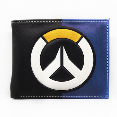 Limited Edition Overwatch Sign Men's Leather Long Wallet