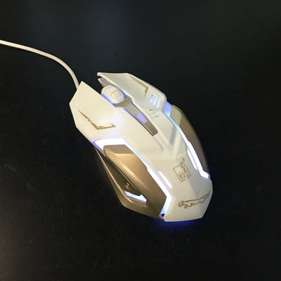 Macro Programming USB Buttons Optical Gaming Mouse