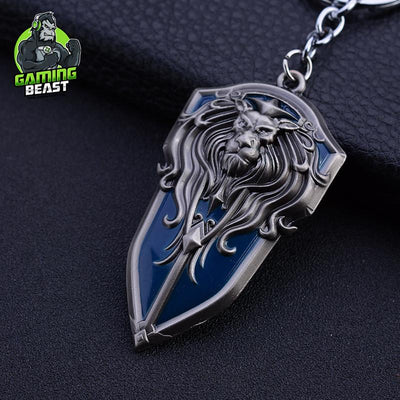 World of Warcraft Weapon Metal Keychain Frostmourne Lich King
