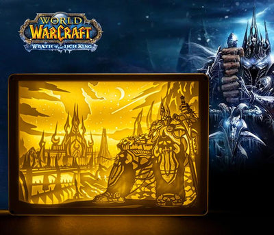 World of Warcraft Alsace Stereoscopic Night Light