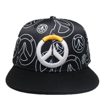Teen Fashion Creative OverWatch Sign Hip Hop Punk Fashion Baseball Cap