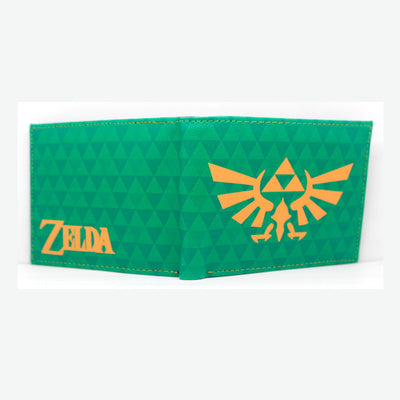 Limited Edition The Legend of Zelda Breath of The Wild Sign Men's Long Wallet