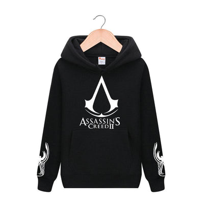 Men's Casual Slim Fit Zip-Up Assassin Creed Men's Fashion Hoodies