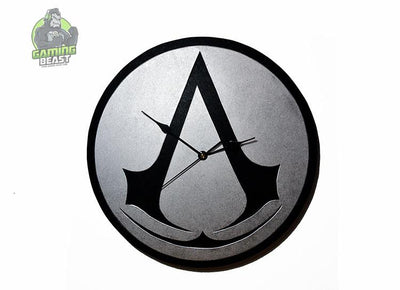 The Limited Edition Assassin's Creed Vogue Silent 3D Wall Clock