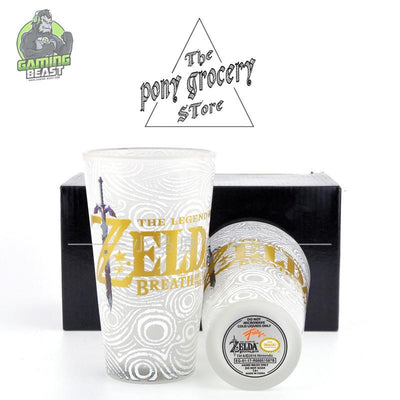 Limited Edition Legend of Zelda Glass Water Cup