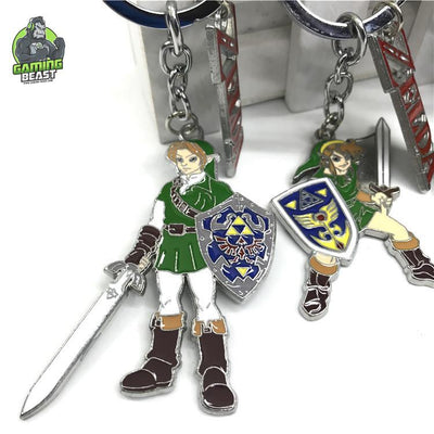 Limited Edition Legend of Zelda Alloy Key Ring