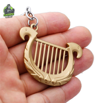 The Legend of Zelda Harp Key Ring