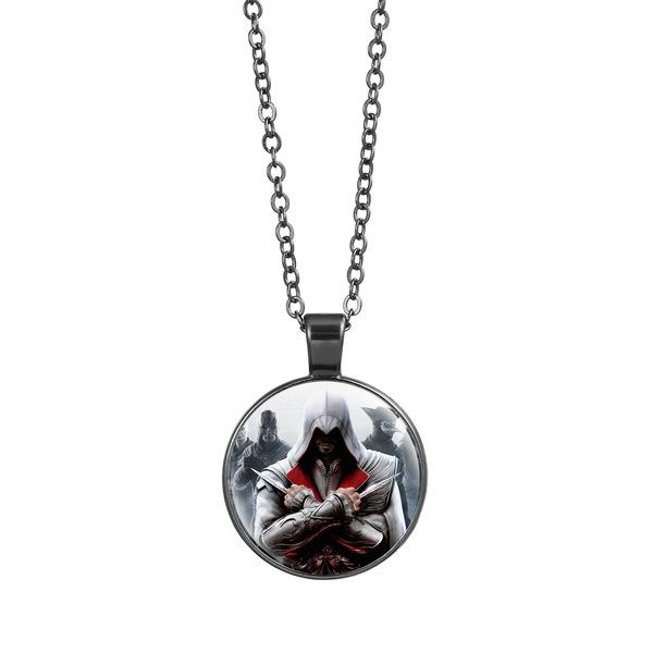 Assassin's Creed Glass Pendant