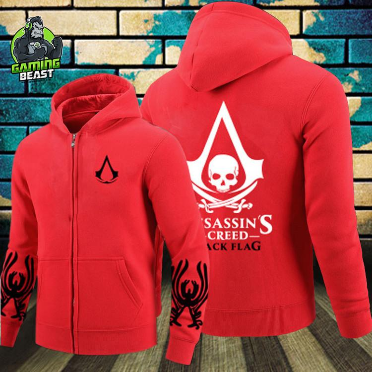 Assassin's Creed Revolution Confession Doctrine Connor Hoodie