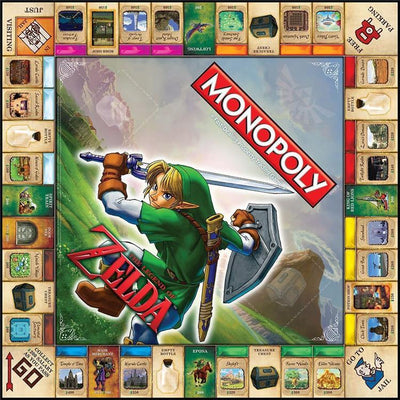 The Legend Of Zelda -  Monopoly Brand New & Sealed
