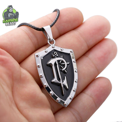 Limited Edition World of Warcraft Shield Sign Necklace