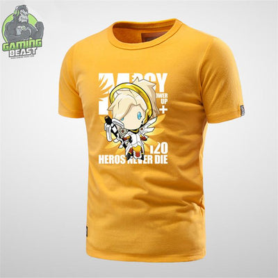 Limited Edition Overwatch MERCY Printed T-shirt