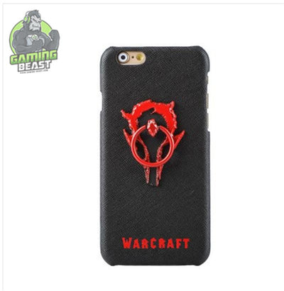 World of Warcraft Ring Bracket Phone Case for IPhone