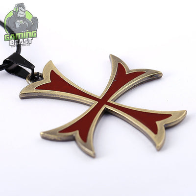 Limited Edition Assassin's Creed Knights Cross Necklace
