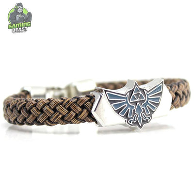 Limited Edition The Legend of Zelda Leather Braided Bracelet