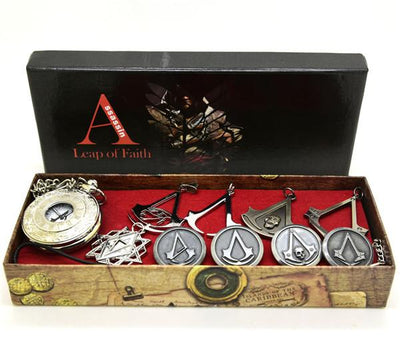 Assassin's Creed New Arrive Jewelry and Watch Sets