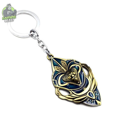 The Limited Edition World of Warcraft Shield Key Ring