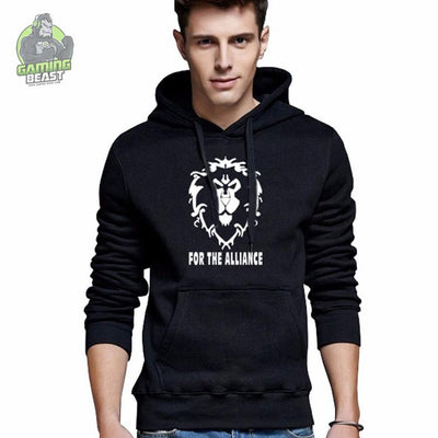 World of Warcraft Hegemony Tribal Alliance Graphic Print Hoodie