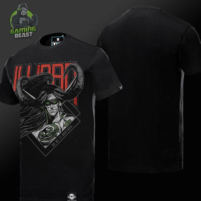 World of Warcraft Illidan Printing Cotton T-shirt