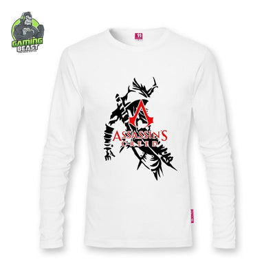 Assassin's Creed Fashion Cotton Long Sleeve Shirt