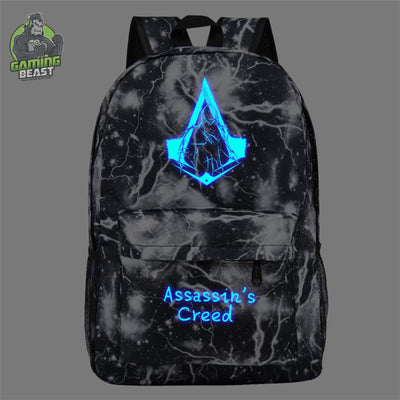 Limited Edition Assassin Creed Luminous Schoolbag