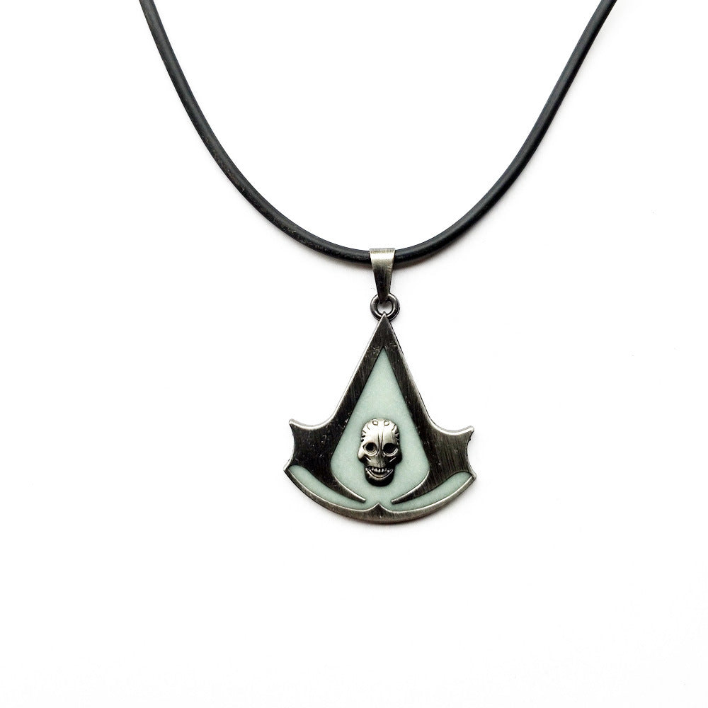 Limited Edition Assassins Creed Necklace Gaming Beast