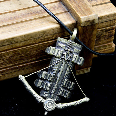 Limited Edition Assassin's Creed Unity Sleeve Sword and Arrow Alloy Pendant Necklace