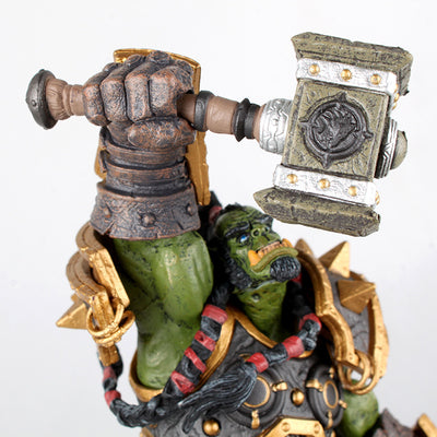 LIMITED EDITION - WORLD OF WARCRAFT THRALL STATUE | 26CM HEIGHT