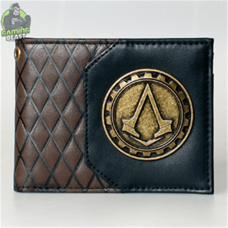 Assassin's Creed Men Vintage Leather Wallet