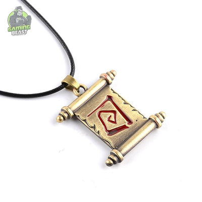 World of Warcraft Game Alloy Necklace