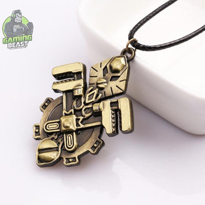 World of Warcraft Tribal Logo Pattern Necklace