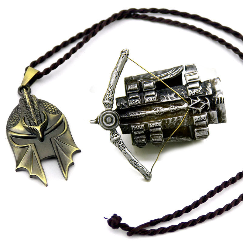 Limited Edition Assassin S Creed Odyssey Pendant Necklace Set