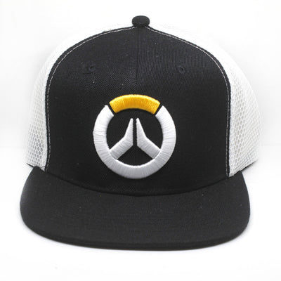 Limited Edition OverWatch Canvas Grid Hip Hop Punk Casual Sunhat