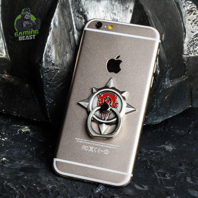 World of Warcraft Tribal Alliance Sign Alloy Mobile Phone Bracket