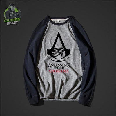 Assassin's Creed Origins Round Neck Print Shirt
