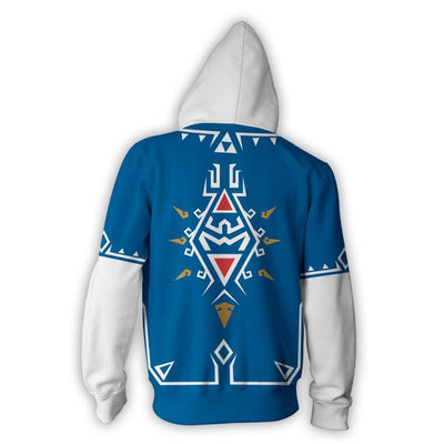 The Zelda Legend Role-playing Hoodie Fashion Casual 3D Printed Hoodie Top