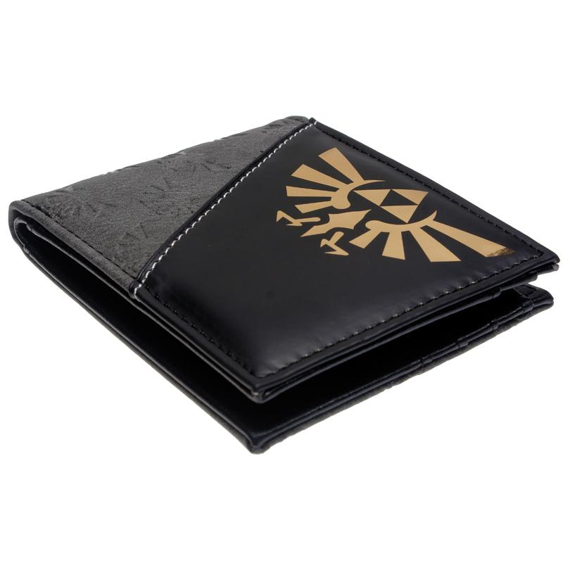 The Legend of Zelda Men Leather Short Wallet