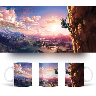 The Legend of Zelda Magic Heat Sensitive Mug Color-changing Cup
