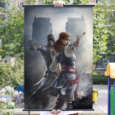 Assassin's Creed Unity Paintings Poster