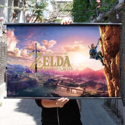 The Legend of Zelda Cloth Decoration Painting