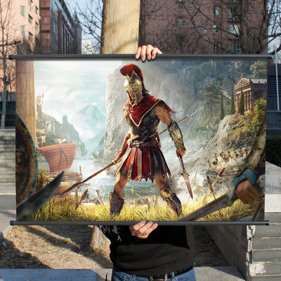Assassin's Creed Odyssey Peripheral Games Collection Painting Decoration Game Poster