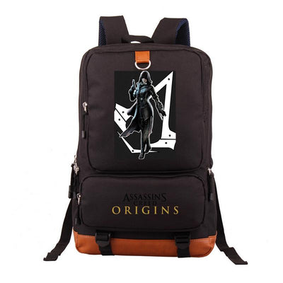Assassins Creed Backpack Travel Bags