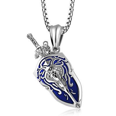 LIMITED EDITION - WORLD OF WARCRAFT STAINLESS STEEL NECKLACE